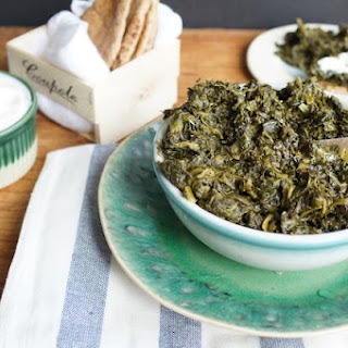 Slow-Cooked Spinach with Dill and Cilantro (Afghan Sabzi)