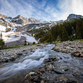 River at Blue Lakes by David Andrus - Landscapes Mountains & Hills ( uncompahgre national forest, ouray, mount sneffels wilderness, blue lakes, telluride,  )