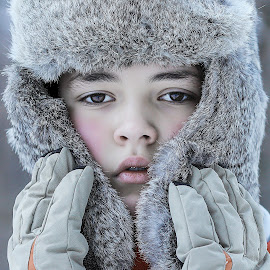 Wolf by Roberto Gramola - Babies & Children Child Portraits