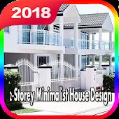 2-Storey Minimalist House Design