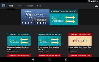Screenshot of TUA: Tony Evans