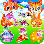 Free Download My Kitty Cat && Fluffy Pet Care APK for Samsung
