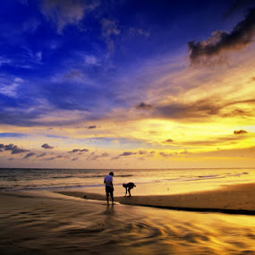 Matan Ai by Rah Juan - Landscapes Weather ( pwcsummer, nature, sunset, landscape,  )