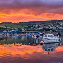 Teignmouth by Graeme Hunter - Landscapes Sunsets & Sunrises