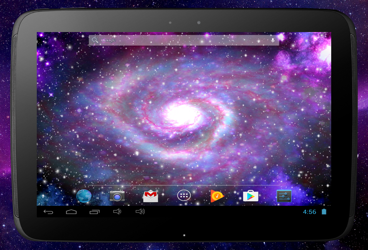 Galaxy Pro Live Wallpaper Screenshot 7