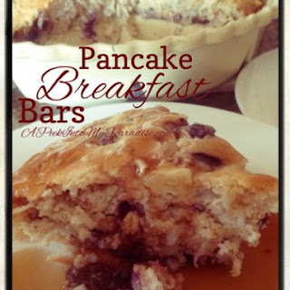 Pancake Breakfast Bars