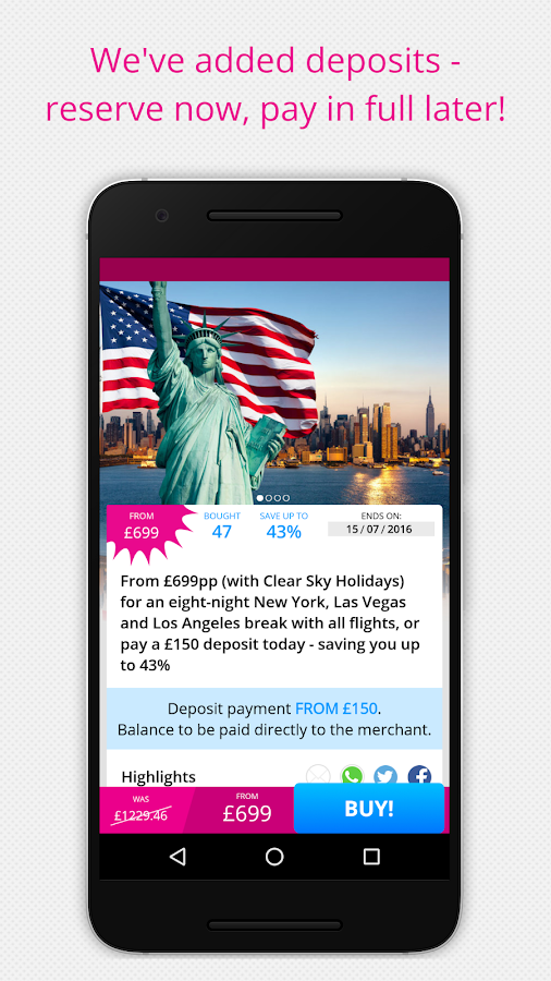 Wowcher – Deals & Vouchers Screenshot 5