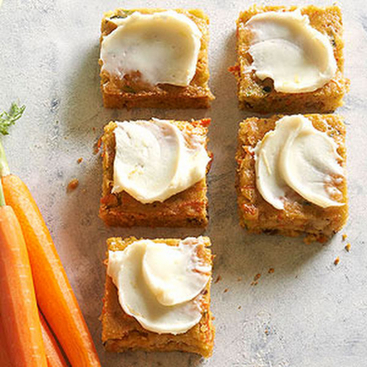 Carrot and Zucchini Bars Recipe | Yummly