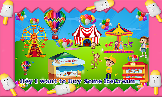 Frozen Ice Cream Festival - screenshot