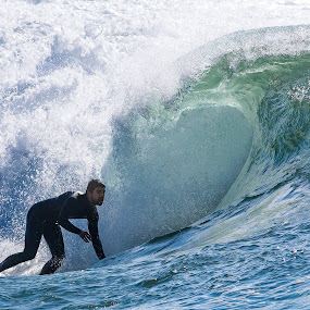 Surfing Caparica by José Borges - Sports & Fitness Surfing ( wave, sea, ocean, surf, costa caparica )