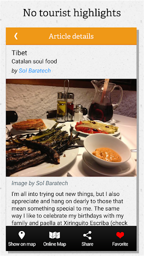 Barcelona guide by locals - screenshot