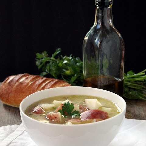 Fennel, Leek, and Potato Soup