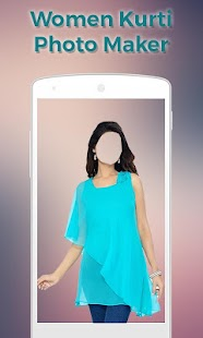 Women Kurti Photo Maker- screenshot thumbnail