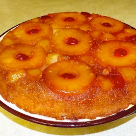 Pineapple Upside Down Cake by Donna Probasco - Food & Drink Cooking & Baking (  )