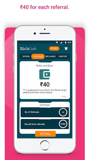RichCash free recharge screenshot 3
