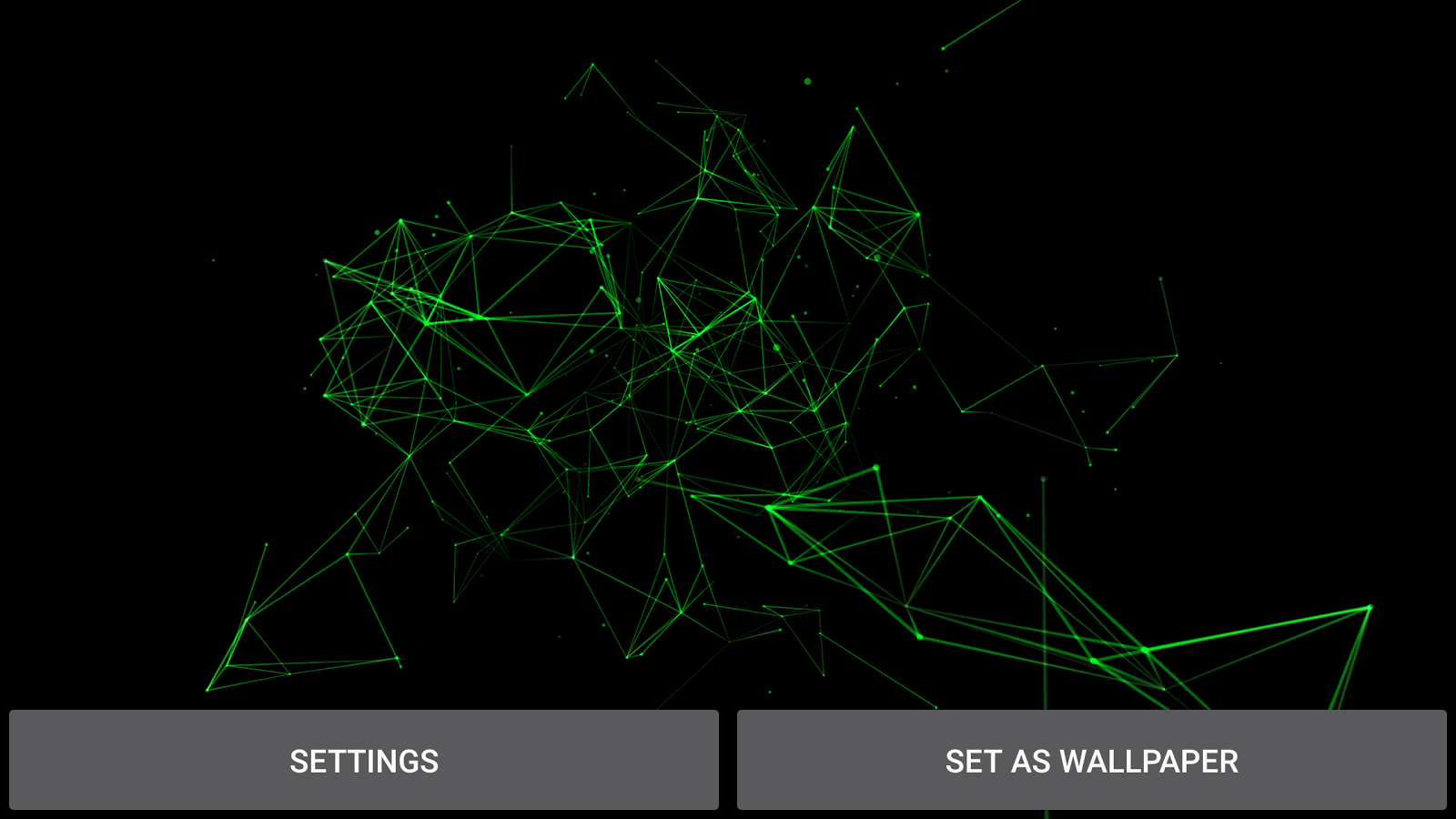 Particle Plexus Live Wallpaper Screenshot 9
