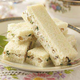 Cream Cheese Finger Sandwiches Recipes