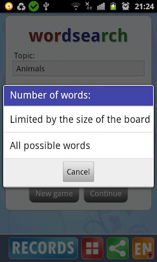 Word search screenshot 7