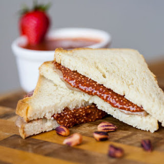 Superfood Peanut Butter and Jelly Sandwich