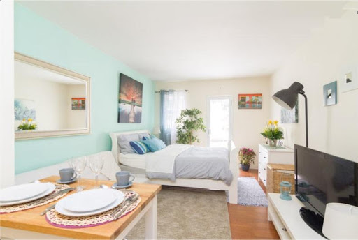 Perfect studio with huge terrace in Union Square