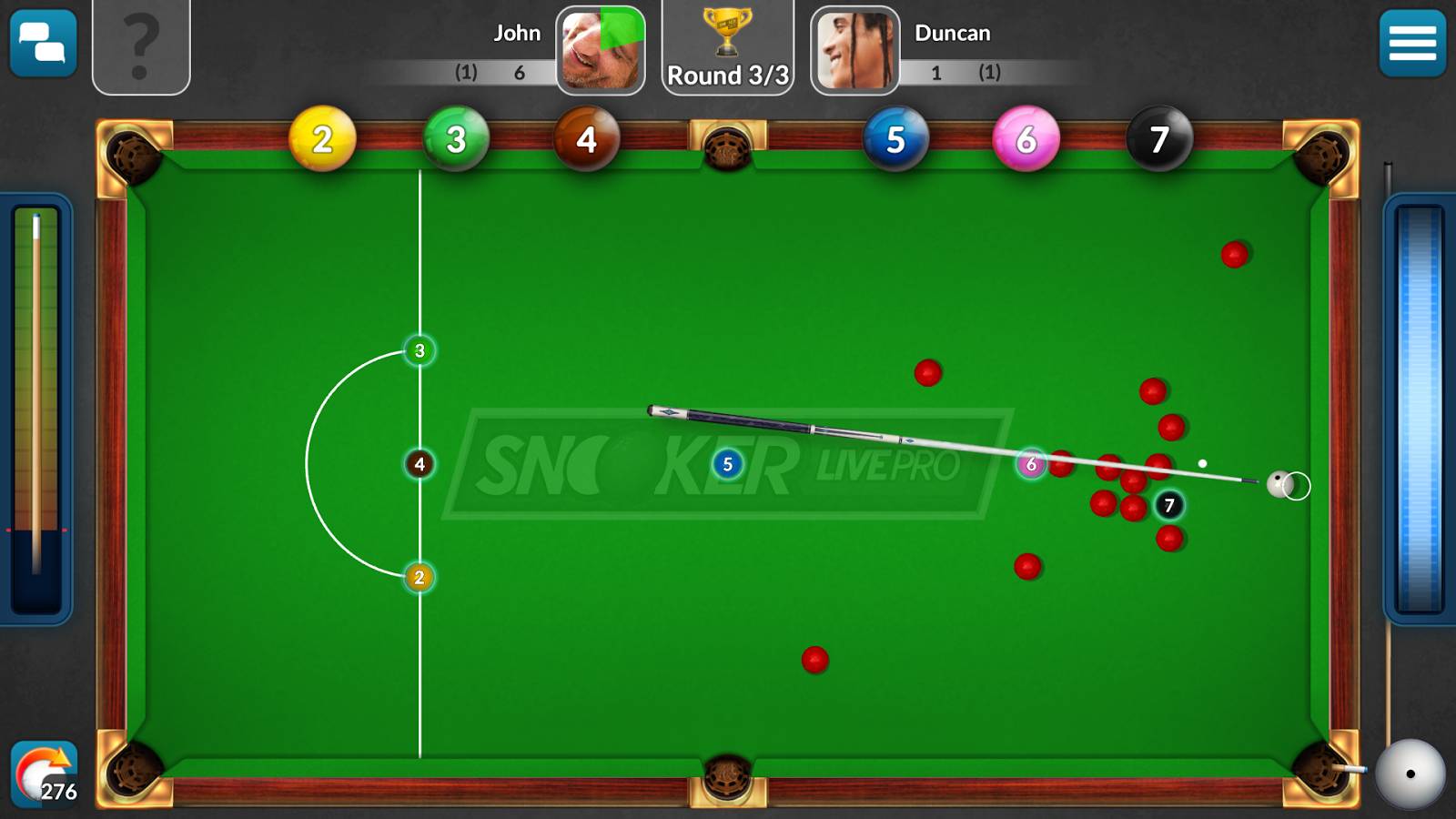 Snooker Live Pro Screenshot 2