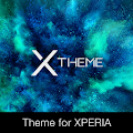 App xBlack - Teal Theme for Xperia APK for Kindle