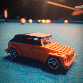 VW Thing 181 pool by Nico Botz - Artistic Objects Toys