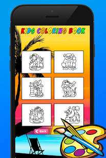 Cat & Dog Coloring Book Games - screenshot