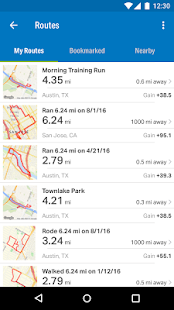 Run with Map My Run + Screenshot
