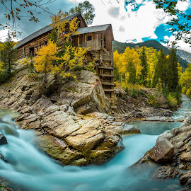 Crystal Mill  by Liam Vo - Landscapes Mountains & Hills