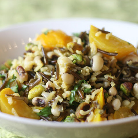 Golden Wild Rice Salad
