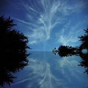 Sky and Water..... by Paul Floyd - Digital Art Places