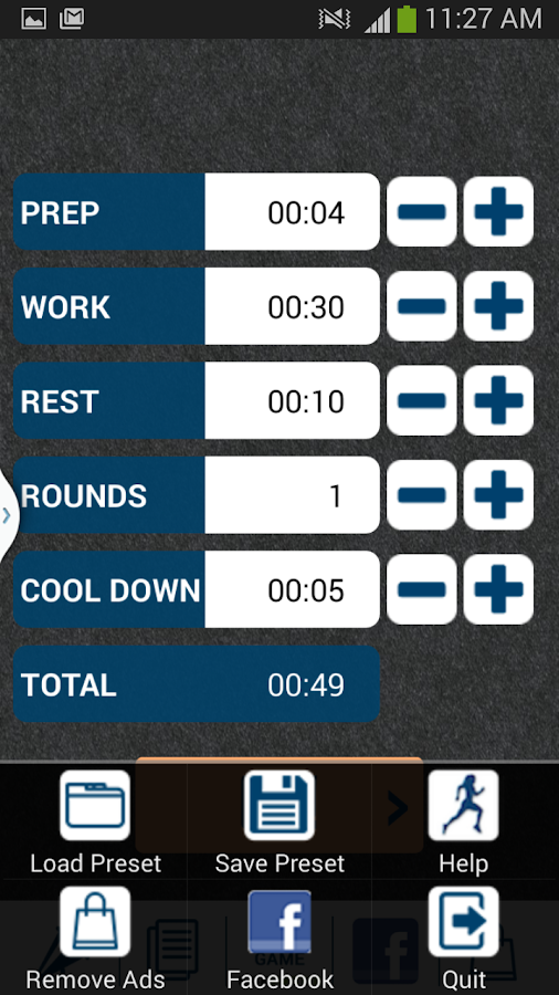 Hiit Interval Training Timer Screenshot