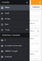 Screenshot of WebMail Aruba