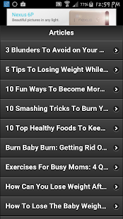 How To Lose Pregnancy Weight 2 - screenshot