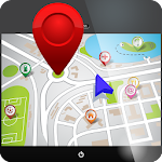 GPS Navigation Maps Traffic Icon