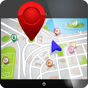 GPS navigation system google maps driving directions traffic road conditions app APK Icon
