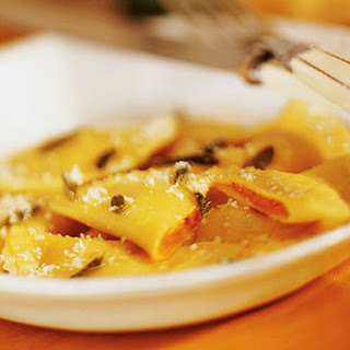 Pumpkin-filled Pasta