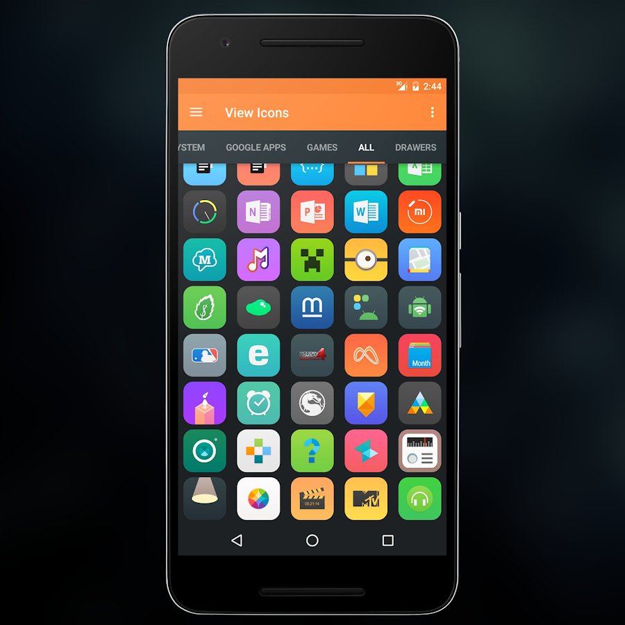 Drage UI Icon Pack Screenshot 4