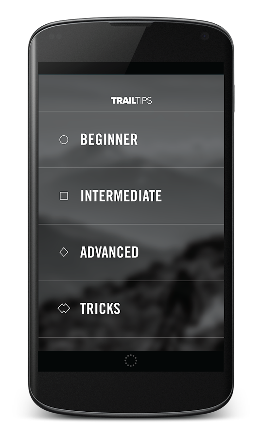 Trail Tips Screenshot 1