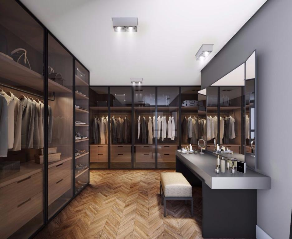 Perspectiva do Closet Casa Alecrim
