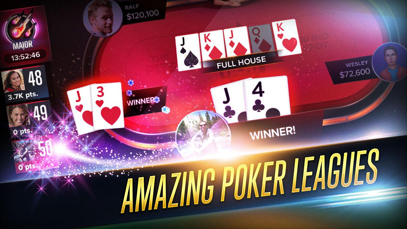 Poker Heat - Free Texas Holdem Poker Screenshot