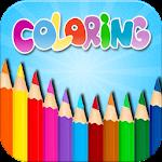 Kids Coloring Book Box Icon