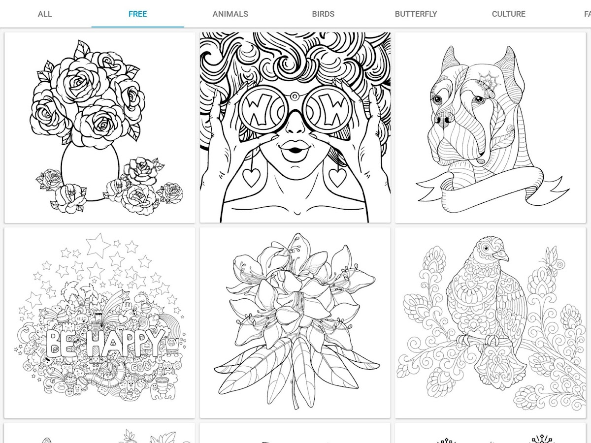 InColor - Coloring Books Screenshot 9