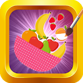Download Fruits Coloring: Kids Painting APK on PC