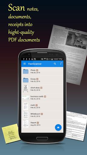 Fast Scanner : Free PDF Scan screenshot 1