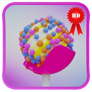 Lollipop 3D Creation LiveWallp