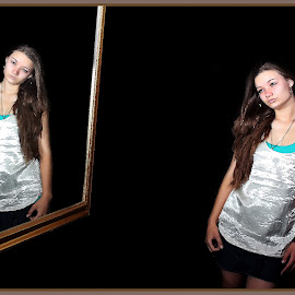 Woman by Lize Hill - Digital Art People