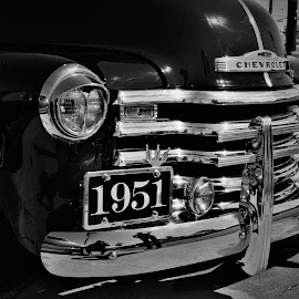Chevy Curves by Benito Flores Jr - Black & White Street & Candid ( truck, low rider, texas, killeen, chevy )