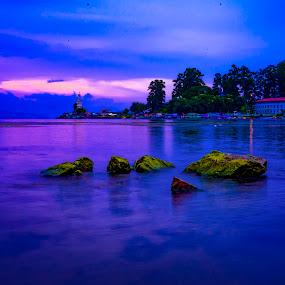 Toba Blueis  by Dian Manik - Landscapes Waterscapes ( travel photography, blue, danautpba, destination, landscape )